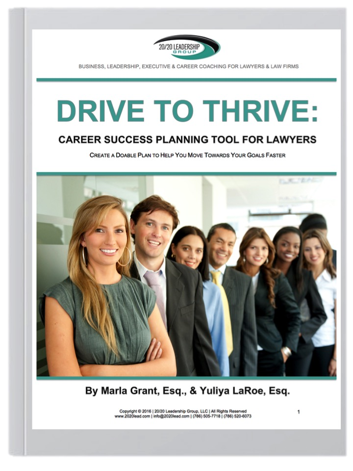 Career Success Planning Tool for Lawyers